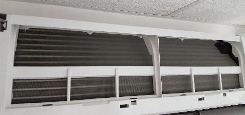 Klimatyzacja po czyszczeniu
