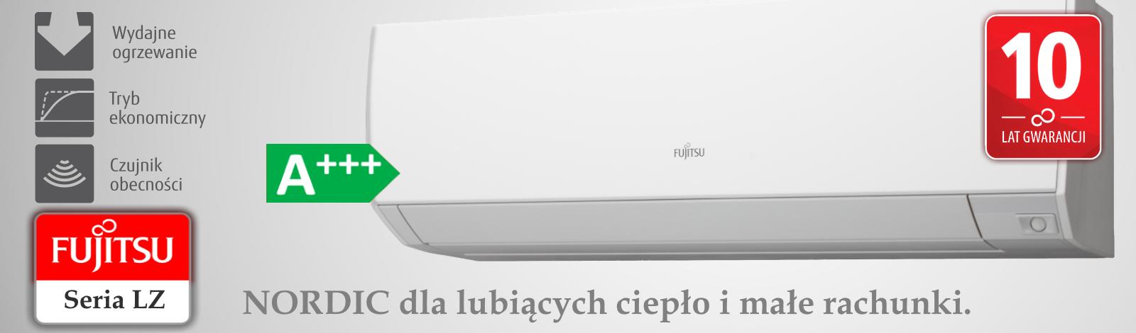 Klimatyzator LZ Fujitsu