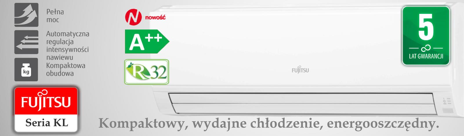 Klimatyzator KL Fujitsu